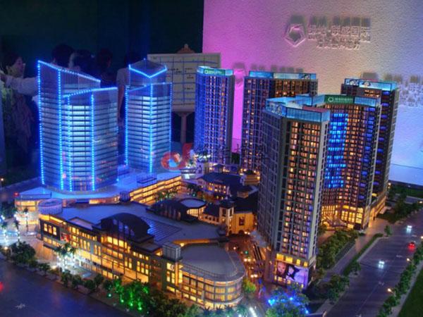 北京筑佳展览展示有限公司-绿地联盛国际沙盘
