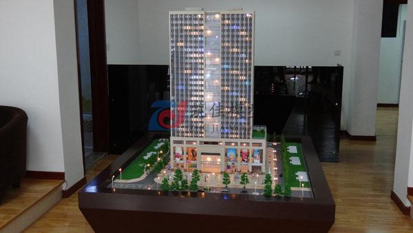 北京筑佳展览展示有限公司-威海创业商厦模型
