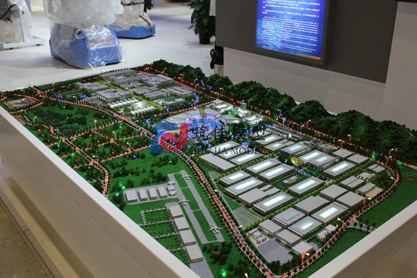 北京筑佳展览展示有限公司-天骄航空产业基地规划沙盘