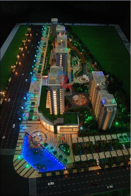 北京筑佳展览展示有限公司-金水桥花园模型