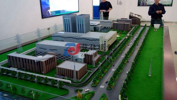 北京筑佳展览展示有限公司-京桥热电规划沙盘