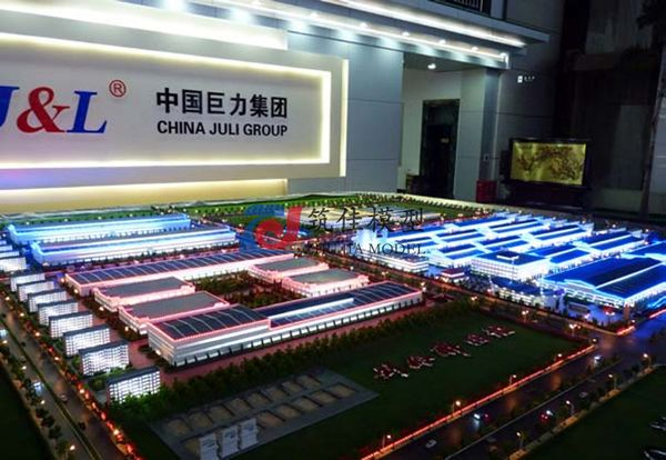 北京筑佳展览展示有限公司-巨力集团总体规划沙盘