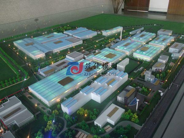 北京筑佳展览展示有限公司-青岛四方集团南车厂区规划沙盘