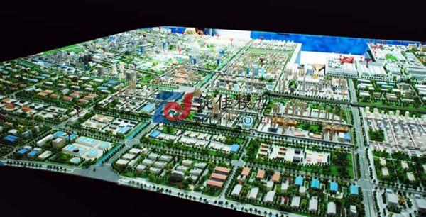 北京筑佳展览展示有限公司-天津港工业区规划沙盘