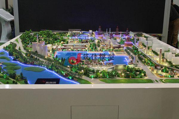 北京筑佳展览展示有限公司-首钢园区规划沙盘
